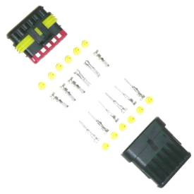 Picture of Waterproof Multipin Wiring Connector 6 Way
