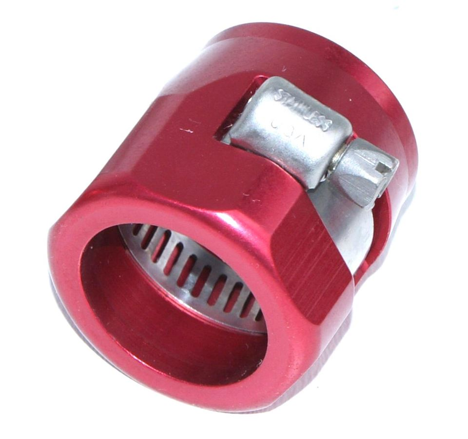 Hose End Finisher Red 25mm Id Car Builder Solutions