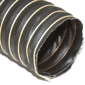 """Picture of 51mm (2"""") Black Silicone Duct Hose Per Metre"""