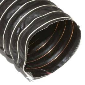 """Picture of 83mm (3 1/4"""") Black Silicone Duct Hose Per Metre"""