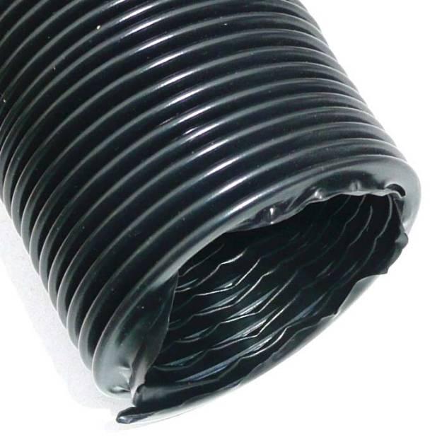 "Picture of 63mm (2 1/2"") Duct Hose Black PVC Per Metre"