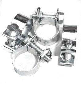 Picture of Zinc Plated Fuel Hose Clips 11-13mm Pack of 4