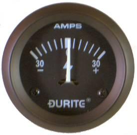 Picture of Ammeter Gauge 57mm Black