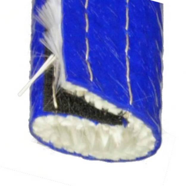 Picture of 19mm ID Temperaturwächter Blauer Schlauch Klettband