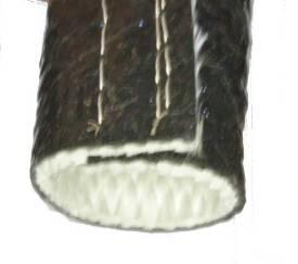 Bild von 32mm ID Temperaturwächter Schwarzer Schlauch Klettband