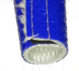 Bild von 32mm ID Temperaturwächter Blauer Schlauch Klettband