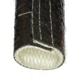 Bild von 38mm ID Temperaturwächter Schwarzer Schlauch Klettband