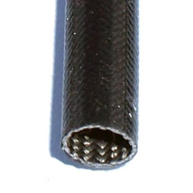 Picture of 6mm ID Temperaturwächter Schwarzer Schlauch