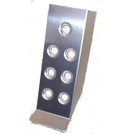 Bild von Gepresste Aluminium-Kupplungs-Fußauflage