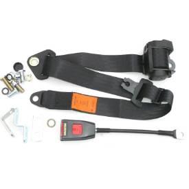 Picture of Securon Retractable Seat Belt Long Stalk Buckle Black