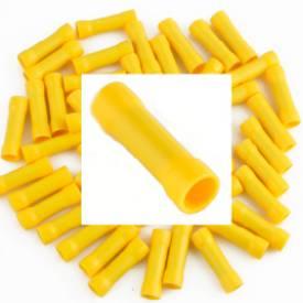 Bild von Vorisolierter gelber Crimp-Schreiner. Packung mit 50 Stück