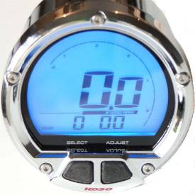 Picture of Digital Tachometer Chrome Bezel 65mm