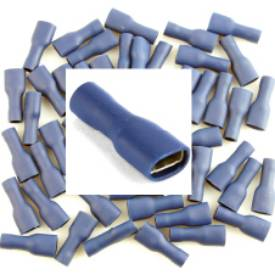 Picture of Pre Insulated Blue Female Spade. Pack of 50
