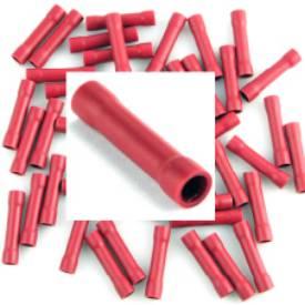 Bild von Pre Insulated Red Crimp Joiner. Packung mit 50 Stück