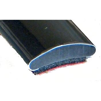 13 X 3 5mm Gloss Black Flat Self Adhesive Trim Per Metre