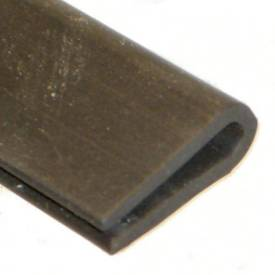 Picture of 15 x 5.5mm Rubber U Channel For 1 To 2mm Panels Per Metre