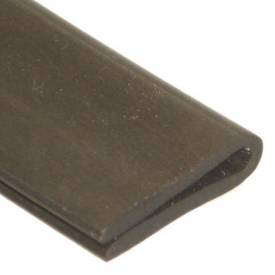 Picture of 18 x 5.5mm Rubber U Channel For 1 To 2mm Panels Per Metre