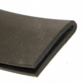 Picture of 26 x 6mm Rubber U Channel For 1 To 3mm Panels Per Metre