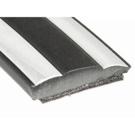 Picture of Chrome/Black Sandwich Trim Per Metre