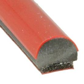 Picture of Red Gloss Trim 7mm x 5mm Per Metre