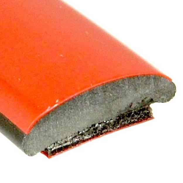 Picture of Red Flat Trim 14mm x 4.2mm Per Metre