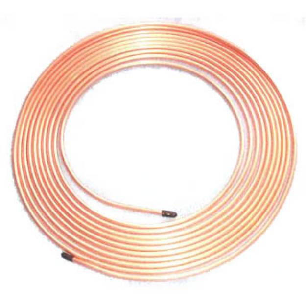 """Picture of Copper Brake Pipe 3/16"""" 25 ft Roll"""
