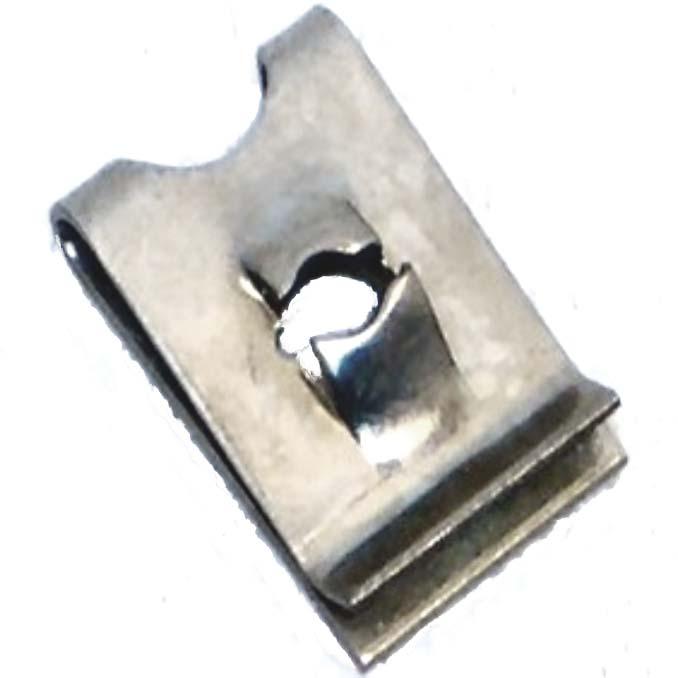 No 8 50 x Speed Fastener U Nuts Interior Trim Panel Self Tapping Screw Spire Clips