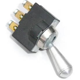 Picture of Aluminium Knob Toggle On-Off-On Long Knob