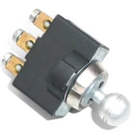 Picture of Aluminium Knob Toggle On-Off-On Round Knob