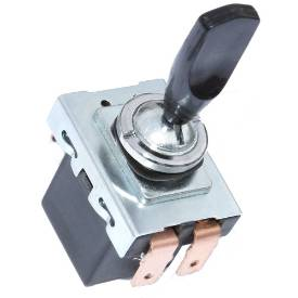 Picture of Lucas Style Black Paddle Toggle Switch On Off On