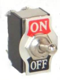 Picture of Double Pole On-Off Chrome Toggle Switch
