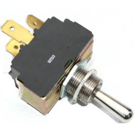 Picture of Heavy Duty Chrome Toggle Switch Off-On(1)-On(1+2)