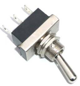 Picture of Heavy Duty Chrome Toggle Switch On-Off-On