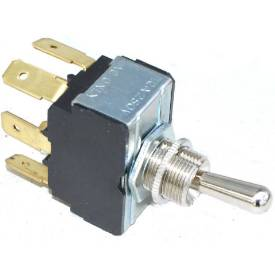 Picture of Heavy Duty Toggle Switch On-On Changeover Double Pole