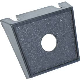 Picture of Black Single Round Hole Switch Panel