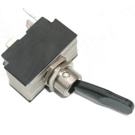 Picture of Black Lever Toggle Off-On-Momentary   (Spring Return)