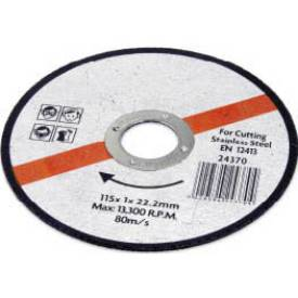 Picture of 115mm x 1mm Metal Cutting Disc