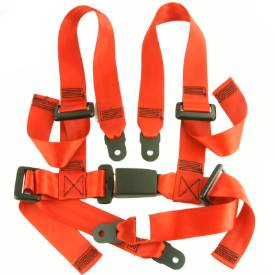 Picture of Sport Harness 4 Point Seatbelt RED