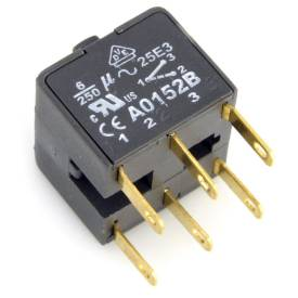 Picture of Double Pole Switch Block for Billet Alloy Switches