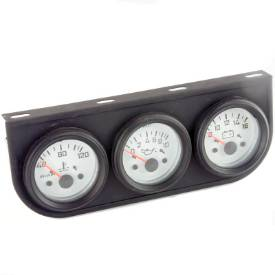 Picture of White Faced TRIO 58mm Gauge Set