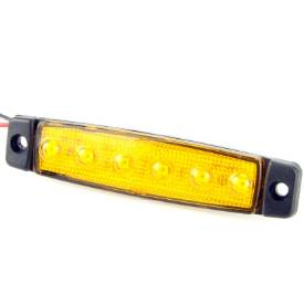 Picture of 96mm Amber LED Side Marker / Side Repeater