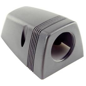 Picture of Surface Mounting Shroud for 28mm Power Socket Black