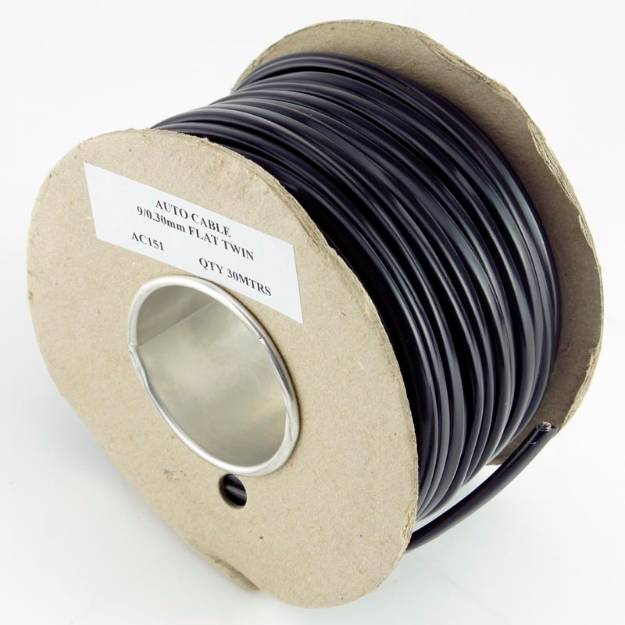 Picture of 5 Amp Twin Core Cable 30 Metre Reel