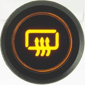 Picture of Black Billet Aluminium Rear Demist Switch