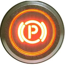 Picture of Natural Billet Aluminium Park Brake Warning Light