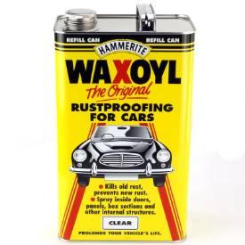 Picture of Hammerite Waxoyl Rustproofer 5 Litre Clear