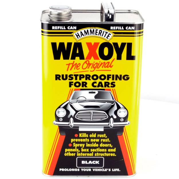 Picture of Hammerite Waxoyl Rustproofer 5 Liter Schwarz