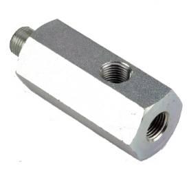 Bild von Aluminium 1/8 NPT 3 Way 'T' Adapter