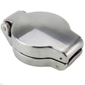 """Picture of 2 1/2"""" 16tpi Modern Classic Fuel Cap Polished Alloy"""