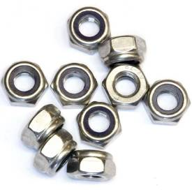 Picture of M10 Stainless Nyloc Nuts Pack Of 10